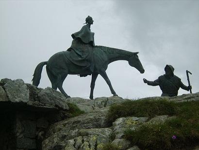 Памятник Суворову Готтард