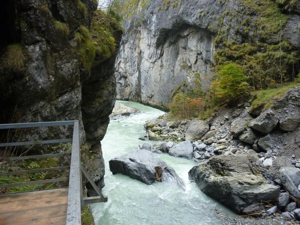 Аарэшлюхт-ущелье реки Аарэ