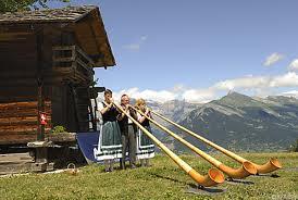 Альпхорн в горах