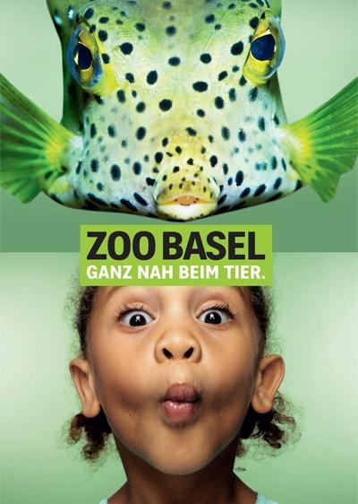 Зоопарк Базель. Аквариум. Шутка