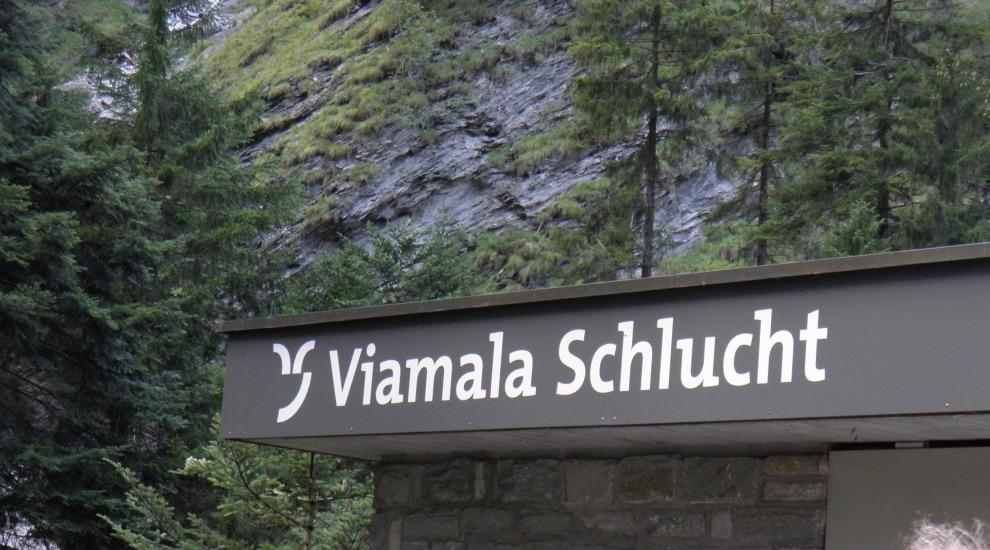 Вжод в ущеле Виамала